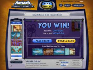 Batman: The Brave And The Bold Game Creator - Make Your Own